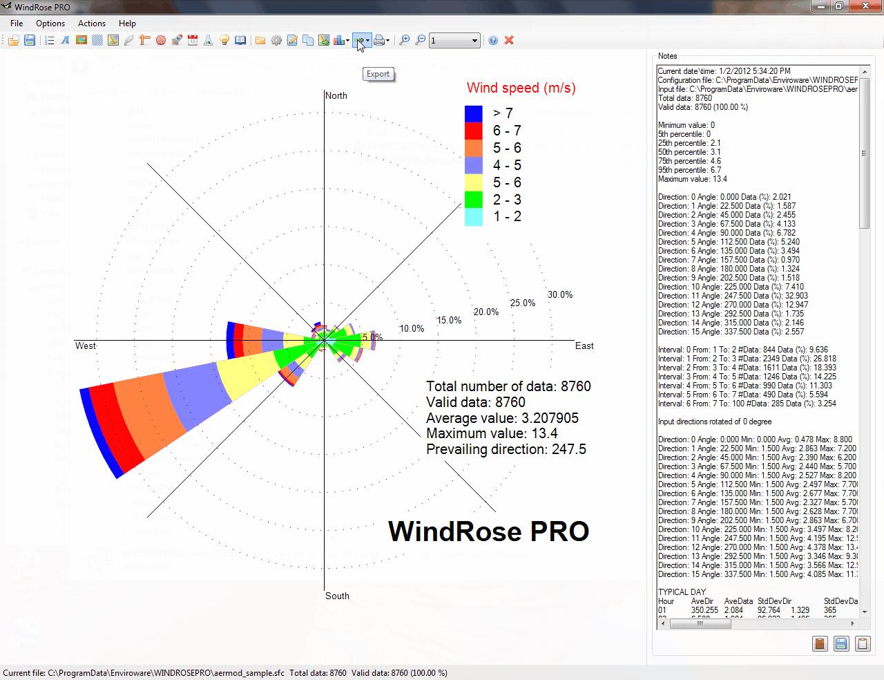 WindRose PRO 3.1.117